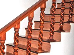Spiral Baluster with Middle Globe SBMG